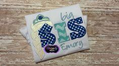 Big Sis Shirt, Big Sis Frozen Shirt, Elsa Big Sis Embroidered Shirt, Sister Shirt, Sibling, Sister To Be, Pregnancy Announcement, Elsa Shirt - pinned by pin4etsy.com