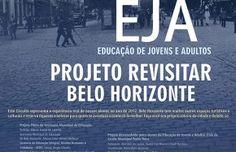 Banner EJA - projeto revisitar Belo Horizonte