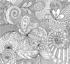 free coloring pages of plicated patterns bestofcoloringcom