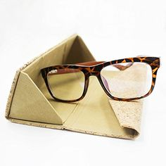 Got It From My student Teacher Quote Glasses Case Eyeglasses Clam Shell Holder Storage Box