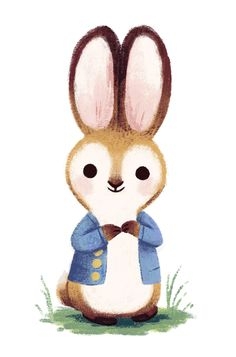 Chris Chatterton's commercial, personal and picture book illustration portfolio Cute Kawaii Drawings, Cartoon Drawings, Doodle Drawings, Building Illustration, Character Illustration, Rabbit Illustration, Illustration Art, Animal Illustrations, Rabbit Drawing