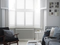 If you wonder how to decorate your room to make it look beautiful around plantation shutters, read on to find some guidance that will help you get started. Cafe Shutters, Red Shutters, Traditional Shutters, Decorate Your Room, Window Treatments, Home Appliances, Interior Design, The Originals, Inspiration