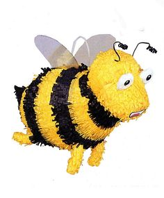 Bumble Bee Pinata. Got this for SCAD Graduation! =]