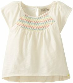 Amazon.com: Lucky Brand Baby-Girls Infant Smocked Flutter Sleeve Top: Clothing