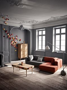 Lovely colors, eclectic interior, gorgeous!