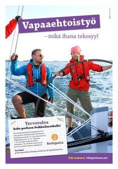 Heppu 4/2013 - Aikuisliite, purjehdus Helsingin edustalla Flikalla