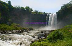 The Catemaco waterfalls