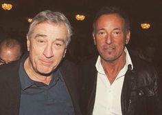 Robert De Niro and Bruce Springsteen