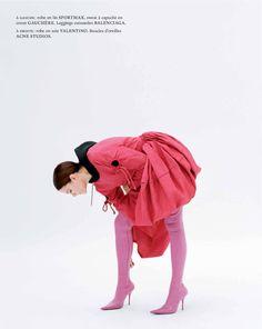 """""""Rouge de Rose"""" Marie Claire France March 2017"""