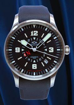 Classic pilot's watch.