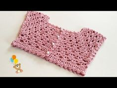 Tığ İşi Elbise Robası You are in the right place about Crochet bracelet Here we offer you the most beautiful pictures about the Crochet slippers. Crochet Yoke, Crochet Vest Pattern, Crochet Girls, Crochet Blouse, Baby Knitting Patterns, Embroidery Patterns, Crochet Patterns, Crochet Baby Booties, Crochet Slippers