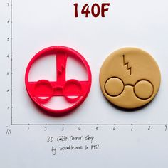 Harry Potter Cookie Cutter baking stickers,baking sheet,baking soda free deodorant,baking soda,baking shirts,baking tools,baking tins,140F by TopCookieMore on Etsy