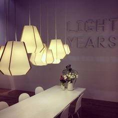@lightyearsdk lighting at #euroluce #euroluce2015 #salonedelmobile #milandesignweek #lighting #lightingdesign Light Year, Lighting Design, Chandelier, Ceiling Lights, Led, Instagram Posts, Home Decor, Light Design, Candelabra