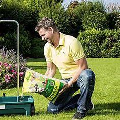 Herbstdünger macht den Rasen fit