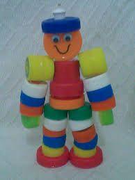 brinquedos feitos com sucata - Pesquisa Google