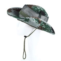 Summer Bucket Jungle P Camuflaje Fisherman Camuflaje Cap Bucket Hat Gorra  Militar Hombres Mujeres Senderismo Fishing 8517042eb0fe