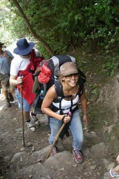 One of the most challenging physical activities I've done to date... on our way to Macchu Picchu 2006