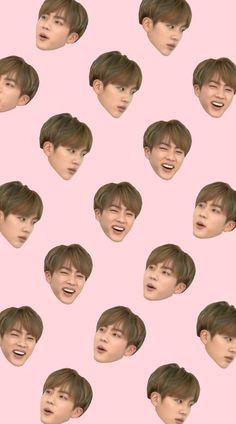 BTS / Seokjin / Collage / Wallpaper