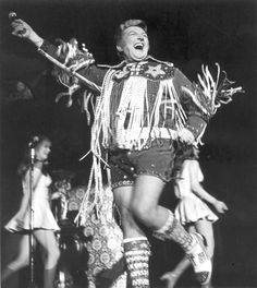 Liberace & the day Hot Pants jumped the shark!