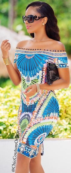 Perfect Summer Dress by @chiccoutureonline