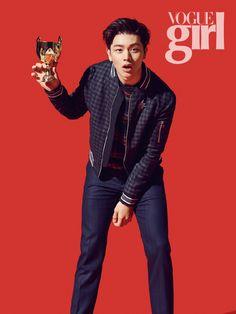 Sung Jae - Vogue Girl Magazine December Issue '14