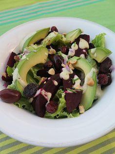 Salade healthy & veggie, betterave & avocat salades composees 42 recettes vegetariennes 41 les legumes de lamap