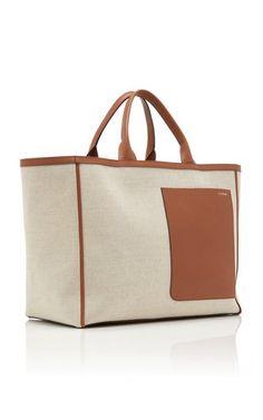Diy Tote Bag, Reusable Tote Bags, Hermes Bags, Canvas Leather, Womens Tote Bags, Canvas Tote Bags, Leather Shoulder Bag, Shopping Bag, Purses