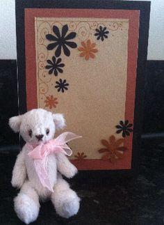 Tessa Bear 2 - With a classic Anime Birthday Card.