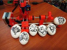 EggBot or Robot Easter eggs by Trigubovich - Thingiverse