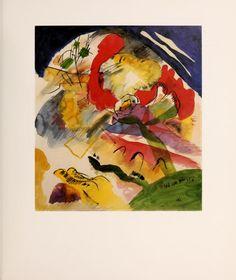 Kandinsky : acuarelas : coleccion The Solomon R. Guggenheim Museum
