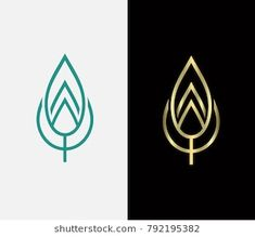 Find Leaf Icon Golden Leaf Vector Green stock images in HD and millions of other royalty-free stock photos, illustrations and vectors in the Shutterstock collection. Packaging Design Inspiration, Logo Inspiration, Badge Design, Logo Design, Trinity Logo, Landscaping Logo, Tree Logos, Mandala, Monogram Logo