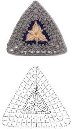 Transcendent Crochet a Solid Granny Square Ideas. Inconceivable Crochet a Solid Granny Square Ideas. Crochet Triangle Pattern, Crochet Boots Pattern, Crochet Motifs, Granny Square Crochet Pattern, Crochet Diagram, Crochet Shoes, Crochet Chart, Crochet Squares, Diy Crochet