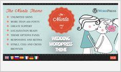 Nunta -Notch WordPress Theme for Wedding Websites