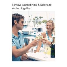 No I'm all for team dan and Serena not Nate and Serena