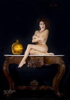 "Jacaranda - ""Golden Vase"" - October 2017 - Studio Gattinarte - Hair Fc Parrucchieri - MUA N. Tellaro"