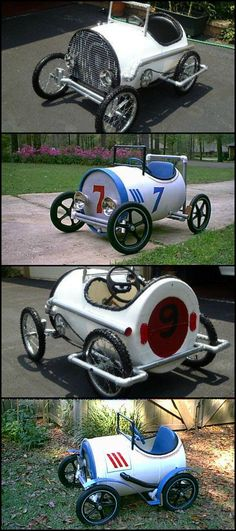 Upcycle Plastic Barrels into Fabulous Pedal Cars