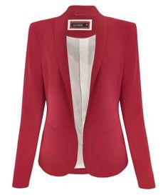 Pretty outfit idea to copy ♥ For more inspiration join our group Amazing Things ♥ You might also like these related products: - Blazers & Suit Jackets. Business Outfits, Business Attire, Mode Outfits, Office Outfits, Office Fashion, Work Fashion, Red Fashion, Blazer Fashion, Fashion Outfits