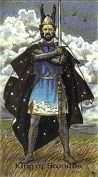 King of Swords - Robin Woode Tarot