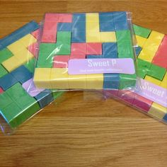 Tetris Chocolate - www.facebook.com/sweetpconfectionery