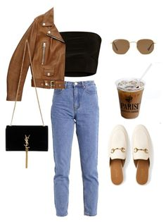 """Untitled #6027"" by lilaclynn ❤ liked on Polyvore featuring Lost Ink, Acne Studios, Yves Saint Laurent, Gucci, Ray-Ban, YSL, saintlaurent, gucci, yvessaintlaurent and acne"