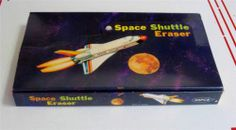 Vintage NASA Space Shuttle Erasers 36 PC Box RARE New Old Stock | eBay