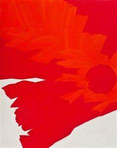 Jack Youngerman - Red-Vermillion, 1961 Oil on canvas Artwork, European Paintings, Art, Asian Sculptures, Poster Art, Art Appreciation, Post Painterly Abstraction, Online Art, Vermillion