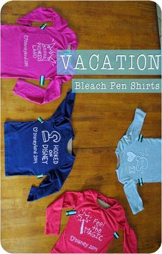 Family Vacation T-Shirt Tutorial - perfect for your Disneyland vacation! http://www.getawaytoday.com 855-GET-AWAY