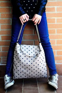 Maxi-bag polka dots 1 www.vanessavanhandmade.etsy.com