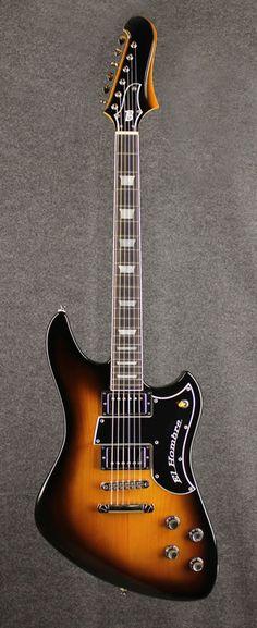 El hombre model guitar built by Bilt Guitars :: BilT Guitars - Des Moines, Iowa