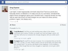 A SF techie compared poor people to trash on Facebook on Tuesday. The worst part is how his friends reacted.