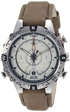 Buy Timex Intelligent Quartz Compass Chronograph Off-White Dial Men's Watch - T2N721 Online at Low Prices in India - Amazon.in