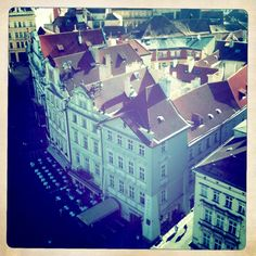 beautiful old town in Prague