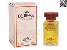 Miniature Equipage (Eau de toilette 10ml), Hermès - Photo Luc_T - www.miniatures13.fr