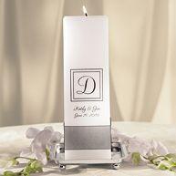 Contemporary Wedding Unity Candle